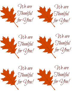 Caregiver Thank You Gift Tag Free Printable - At Home with Sweet T