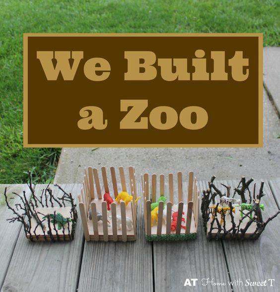 Zoo Craft Tips Deutsch